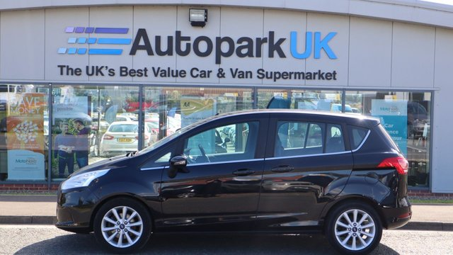 USED 2015 64 FORD B-MAX 1.0 TITANIUM 5d 100 BHP LOW DEPOSIT OR NO DEPOSIT FINANCE AVAILABLE . USABILITY INSPECTED AND WITH WARRANTY + LOW COST EXTENDED WARRANTY AVAILABLE . ALWAYS DRIVING DOWN PRICES .