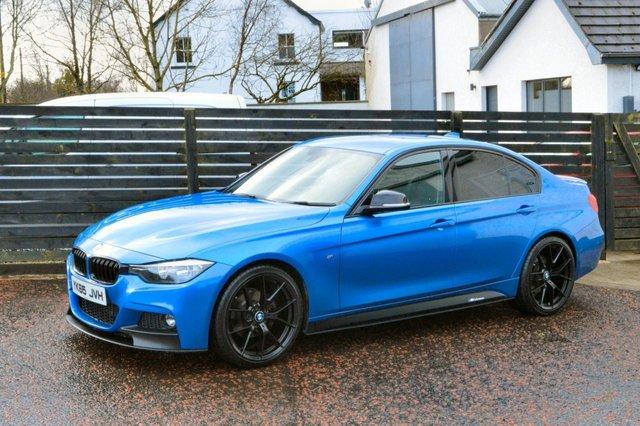 2015 65 BMW 3 SERIES 2.0 320D M SPORT 4d 188 BHP