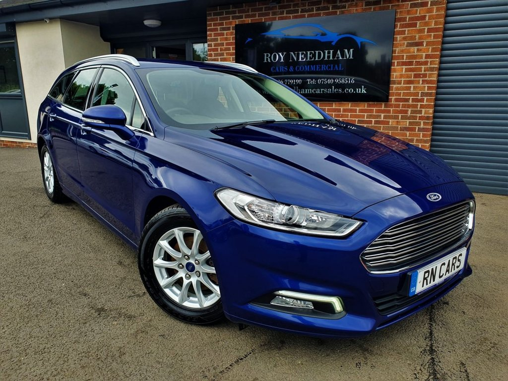 USED 2017 17 FORD MONDEO 1.5 ZETEC ECONETIC TDCI 5DR 114 BHP *** SAT NAV - FINANCE AVAILABLE ***