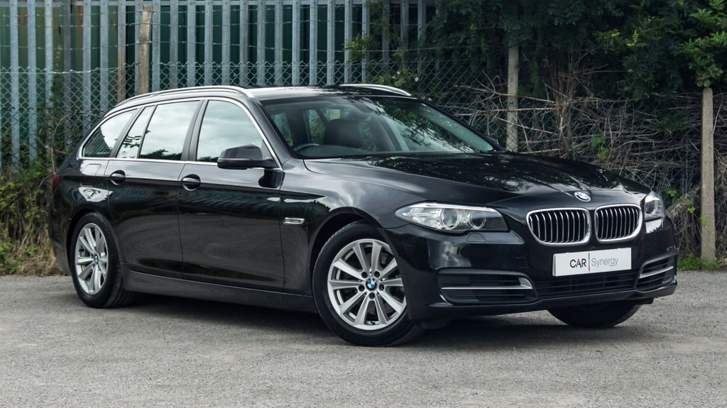 USED 2013 04 BMW 5 SERIES 2.0 520D SE TOURING 5d 181 BHP
