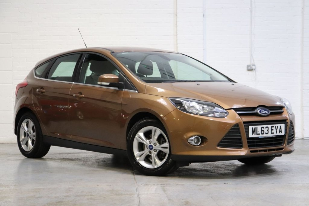 USED 2013 63 FORD FOCUS 1.0 ZETEC 5d 99 BHP Parking Aid + Dab + Bluetooth