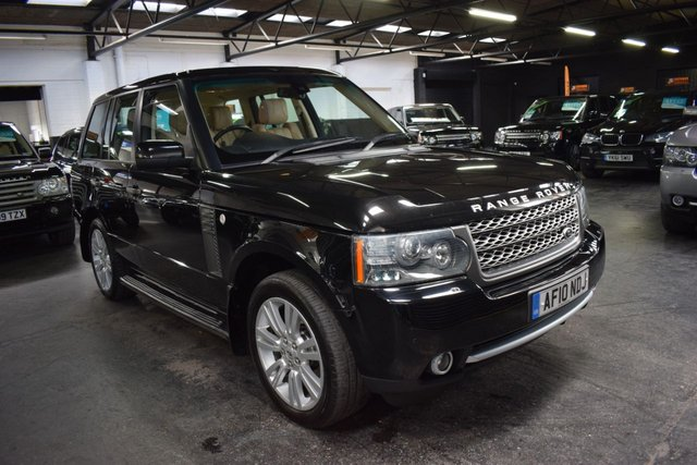 USED 2010 10 LAND ROVER RANGE ROVER 3.6 TDV8 VOGUE SE 5d 271 BHP LOVELY CONDITION - TOP VOGUE SE SPEC - 9 STAMPS TO 76K -  NAV - TV - DUAL VIEW - ADAPTIVE CRUISE CONTROL - 2 PREVIOUS KEEPERS