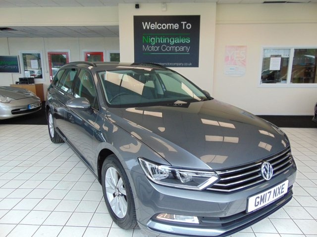 USED 2017 17 VOLKSWAGEN PASSAT 1.6 S TDI BLUEMOTION TECHNOLOGY 5d 119 BHP SERVICE HISTORY + DECEMBER MOT + BLUETOOTH + CRUISE CONTROL + AIR CONDITIONING + ALLOY WHEELS + SPARE WHEEL + REMOTE CENTRAL LOCKING + ELECTRIC WINDOWS + DAB RADIO + ABS + ISOFIX +