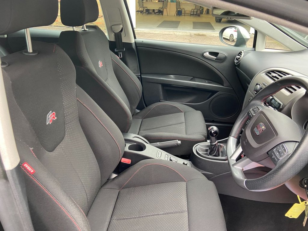 USED 2011 11 SEAT LEON 2.0 FR CR TDI 5d 168 BHP