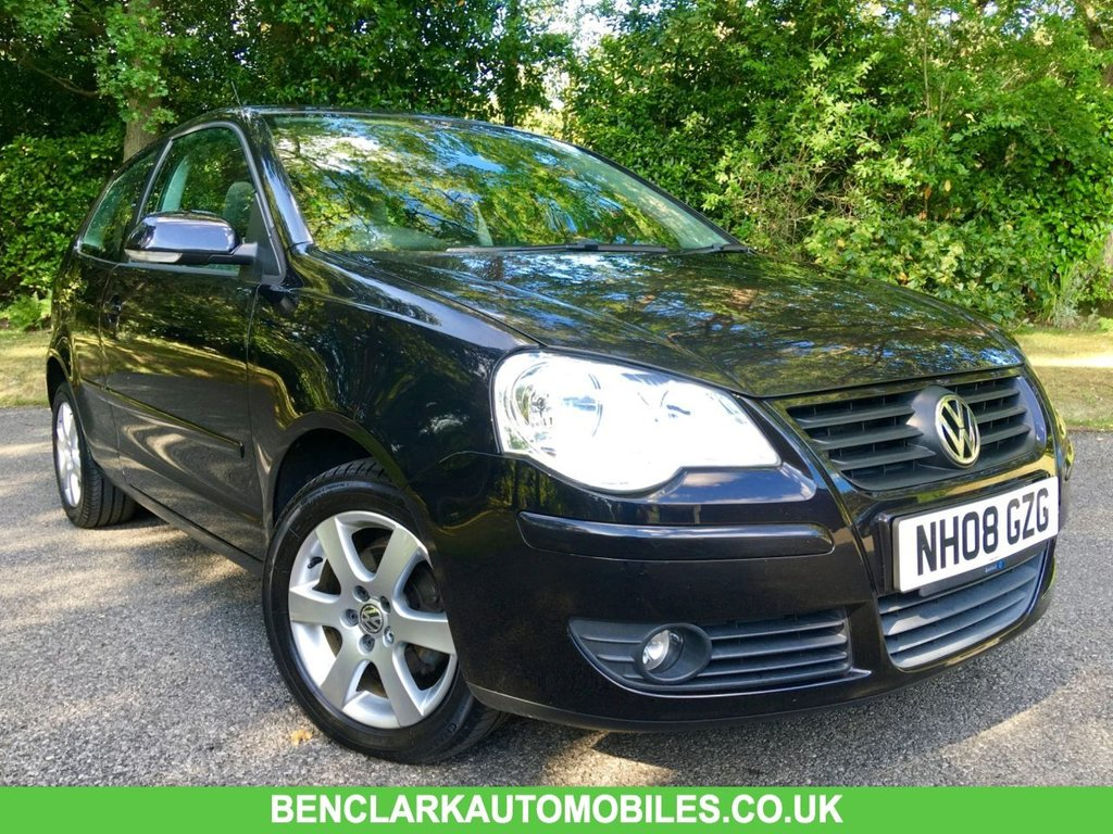 USED 2008 08 VOLKSWAGEN POLO 1.2 MATCH 3d 70 BHP 2 OWNERS/AIRCON/X4 AIRBAGS/ALLOYS//BIG SERVICE AND MOT JUST DONE ''GREAT CONDITION INSIDE AND OUT''JUST SERVICED AND MOT,D BY US
