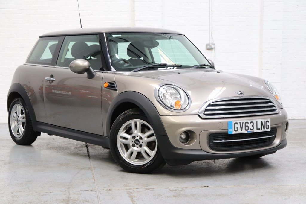USED 2013 63 MINI HATCH COOPER 1.6 COOPER 3d 122 BHP Recently Serviced & Long Mot