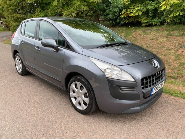USED 2012 12 PEUGEOT 3008 1.6 ACTIVE 5d 120 BHP ** TIMING CHAIN ** MOT ** SERVICE HISTORY **