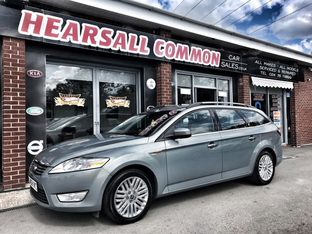 USED 2008 58 FORD MONDEO 2.0 GHIA TDCI 5d 140 BHP