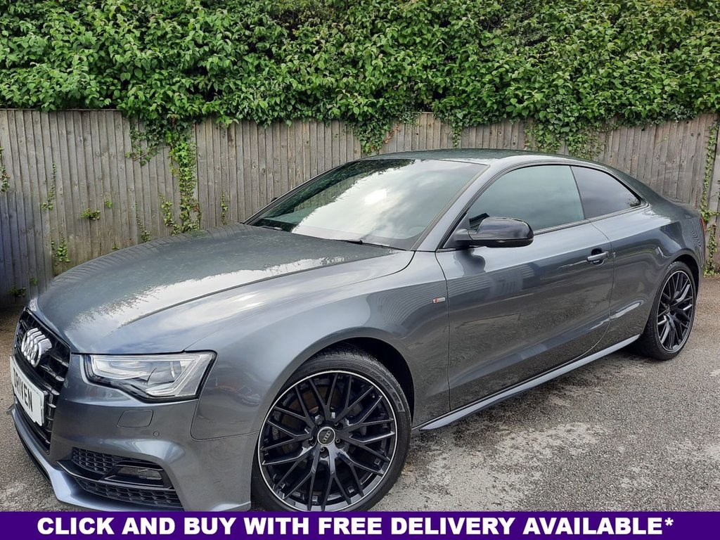USED 2016 16 AUDI A5 2.0 TFSI QUATTRO BLACK EDITION PLUS 3d 227 BHP