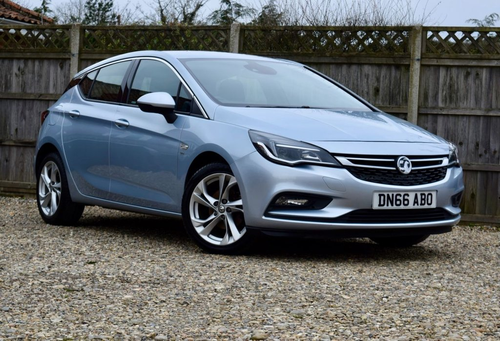 USED 2016 66 VAUXHALL ASTRA 1.4 SRI Turbo 5d 148 BHP Free 12  month warranty