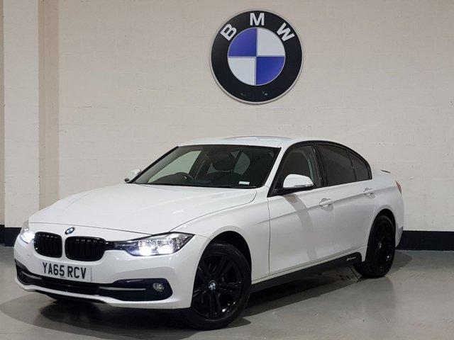 USED 2015 65 BMW 3 SERIES 1.5 318I SPORT 4d 135 BHP 1 Prev Owner/ Sat-Nav/ Park Sensors/ Spoiler/ Bluetooth