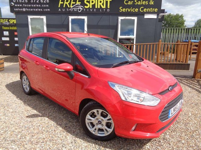 USED 2015 15 FORD B-MAX 1.0T EcoBoost Zetec 5dr (EU5) 1 Owner, Low Mileage, Phone