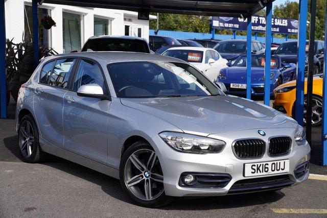 2016 16 BMW 1 SERIES 1.5 116D SPORT 5d 114 BHP