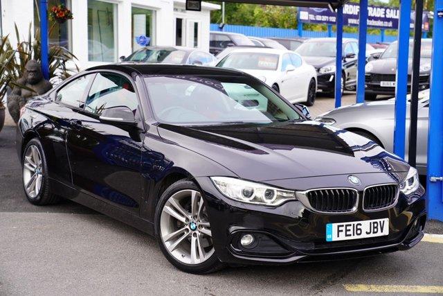 2016 16 BMW 4 SERIES 2.0 420D SPORT 2d 188 BHP
