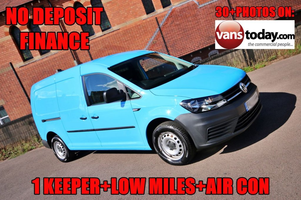 USED 2016 65 VOLKSWAGEN CADDY MAXI 1.6 C20 TDI STARTLINE 101 BHP + AIR CON NO DEPOSIT FINANCE  + 1 KEEPER + AIR CON