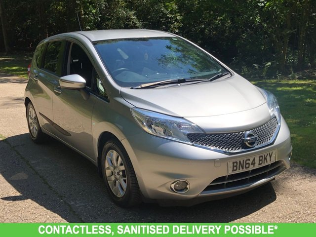 USED 2014 64 NISSAN NOTE 1.5 DCI ACENTA PREMIUM 5d 90 BHP 2 OWNER, AIR CON LOW MILEAGE FINANCE ME TODAY-UK DELIVERY POSSIBLE