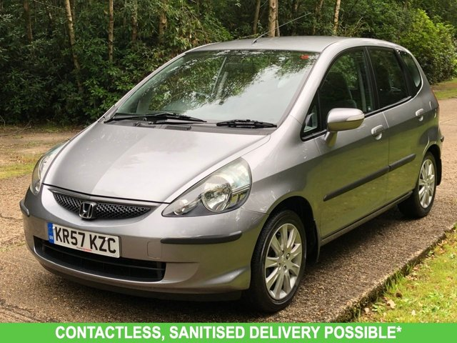 USED 2007 57 HONDA JAZZ 1.3 DSI SE 5d 82 BHP AUTOMATIC LOW MILEAGE, AIR CON, FINANCE ME TODAY-UK DELIVERY POSSIBLE