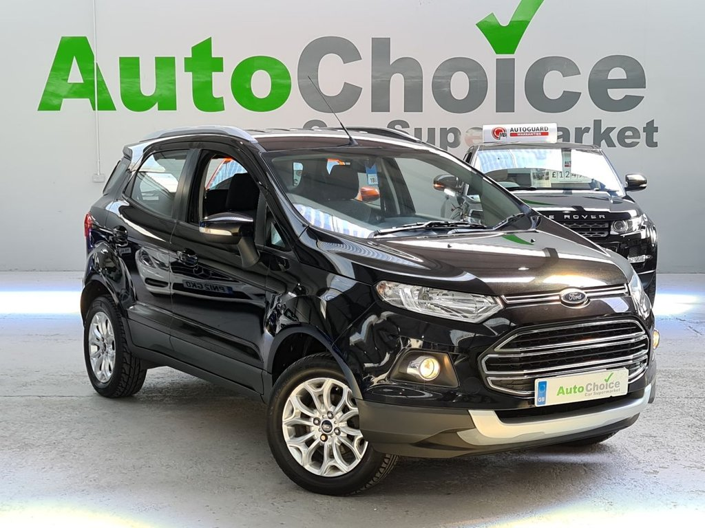 USED 2014 64 FORD ECOSPORT 1.5 TITANIUM 5d 110 BHP *LOW INSURANCE*