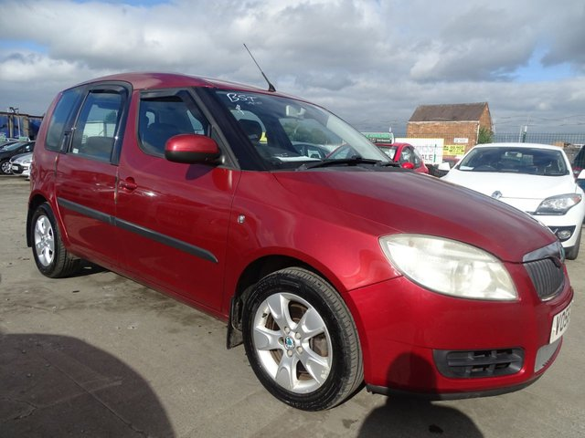USED 2006 56 SKODA ROOMSTER 1.6 2 16V 5d 103 BHP GREAT SPACE
