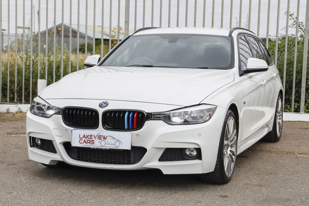 USED 2014 14 BMW 3 SERIES 3.0 330D M SPORT TOURING 5d 255 BHP