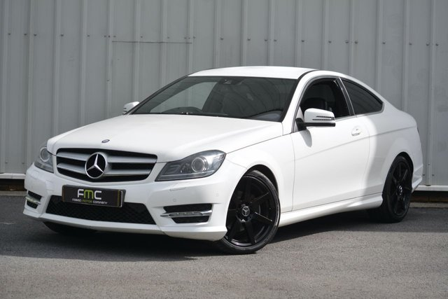2012 62 MERCEDES-BENZ C-CLASS 2.1 C220 CDI BLUEEFFICIENCY AMG SPORT 2d 170 BHP **Low Mileage**
