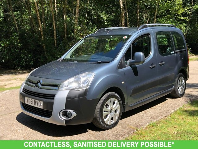 USED 2011 61 CITROEN BERLINGO 1.6 MULTISPACE XTR HDI 5d 91 BHP WAV CONVERSION. RAMP/SCOOTER/WHEELCHAIR ACCESS. FOUR SEATS! LOW MILES