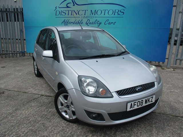 USED 2008 08 FORD FIESTA 1.2 ZETEC CLIMATE 16V 5d 78 BHP