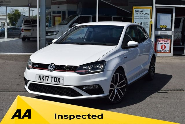 USED 2017 17 VOLKSWAGEN POLO 1.8 GTI 3d 189 BHP FINANCE TODAY WITH NO DEPOSIT - SERVICE HISTORY