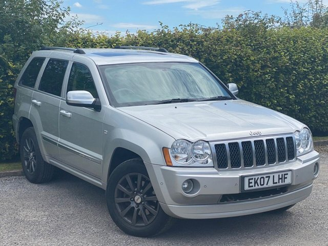 USED 2007 07 JEEP GRAND CHEROKEE 5.7 V8 HEMI OVERLAND 5d 322 BHP LOW MILEAGE AND FULL SERVICE HISTORY