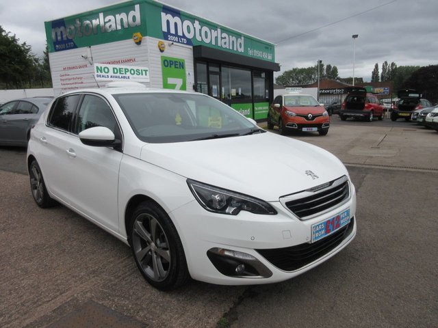 USED 2014 14 PEUGEOT 308 1.6 E-HDI ALLURE 5d 114 BHP