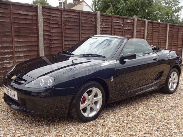 USED 2005 05 MG TF 1.6 115bhp 2 DOOR LOOK AT THIS CHEAP CONVERTIBLE! LONG MOT UNTIL FEB 2021, READY TO DRIVE AWAY