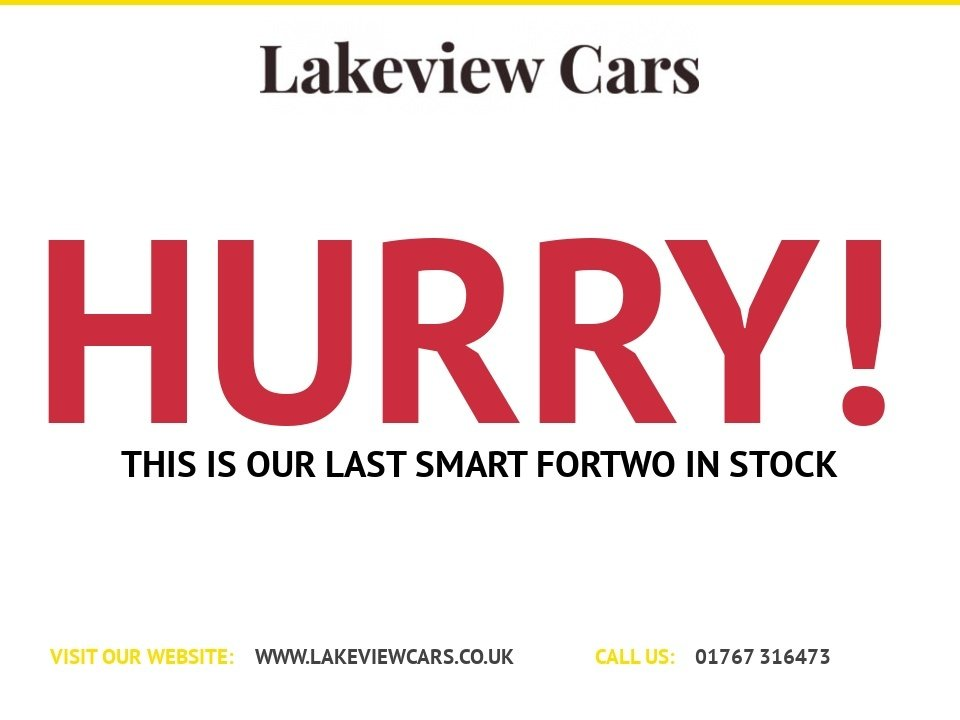 USED 2013 63 SMART FORTWO 1.0 PASSION MHD 2d 71 BHP