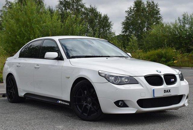 2009 59 BMW 5 SERIES 2.0 520D M SPORT BUSINESS EDITION 4d 175 BHP