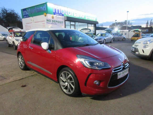 USED 2014 64 CITROEN DS3 1.6 DSTYLE TECHNO 3d 156 BHP ***JUST ARRIVED...***NO DEPOSIT DEALS...01543 877320