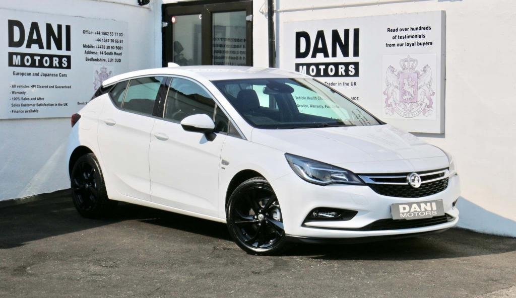USED 2017 17 VAUXHALL ASTRA 1.0i Turbo ecoFLEX SRi Nav (s/s) 5dr 1 OWNER*SATNAV*BLUETOOTH*