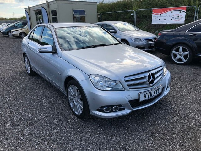 2011 11 MERCEDES-BENZ C-CLASS 2.1 C220 CDI BLUEEFFICIENCY ELEGANCE 4d 168 BHP