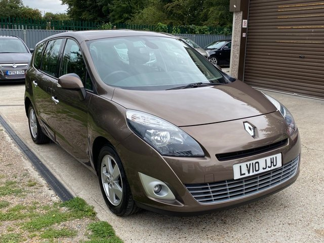USED 2010 10 RENAULT GRAND SCENIC 1.5 DYNAMIQUE TOMTOM DCI 5d 105 BHP 7 SEATER + SAT NAV + ALLOY WHEELS