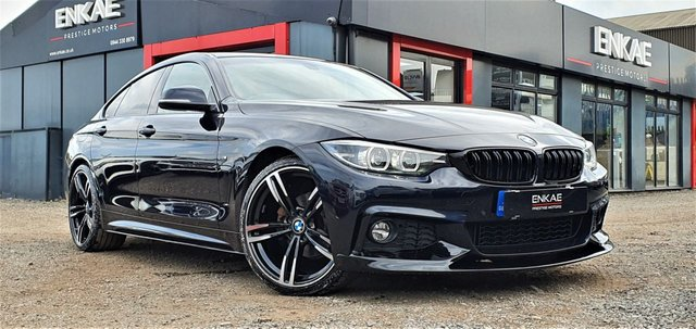2019 19 BMW 4 SERIES 2.0 420I M SPORT GRAN COUPE 4d 181 BHP