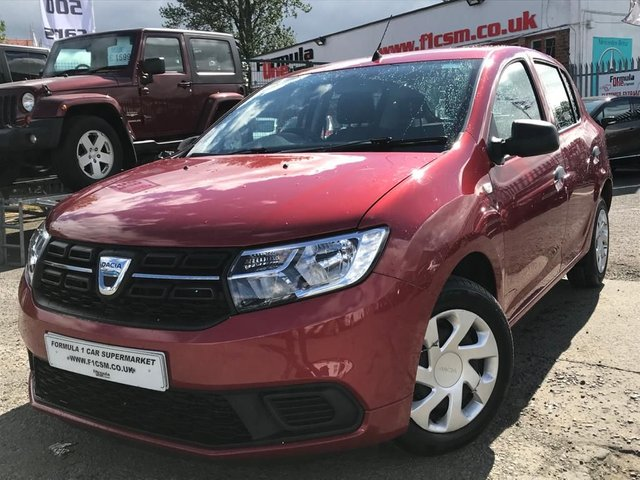 USED 2017 17 DACIA SANDERO 1.1 AMBIANCE 5d 73 BHP BEST VALUE MOTORING+LOW MILEAGE+JUST UNBEATABLE VALUE+DRIVE AWAY TODAY!!