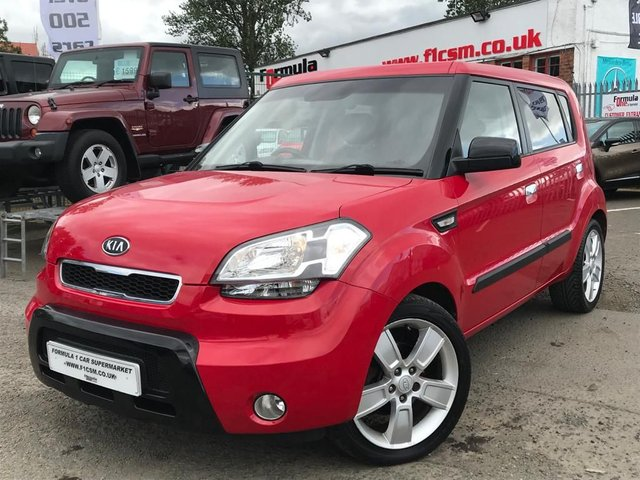 USED 2009 09 KIA SOUL 1.6 SAMBA 5d 125 BHP LOW MILEAGE+1 YEARS MOT+EXCELLENT EXAMPLE!!!
