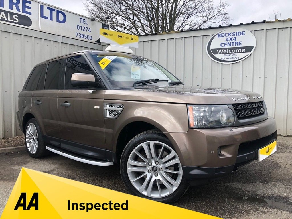 USED 2009 09 LAND ROVER RANGE ROVER SPORT 3.0 TDV6 HSE 5d 245 BHP AA INSPECTED. FINANCE. WARRANTY. MANY EXTRAS