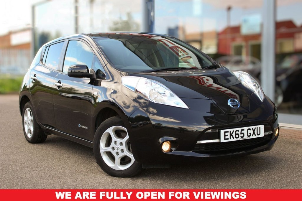 "USED 2015 65 NISSAN LEAF 0.0 ACENTA 5d 109 BHP - ULEZ, £0 TAX, SAT NAV, R/CAMERA, CRUISE, BLUETOOTH & 16"" ALLOYS"
