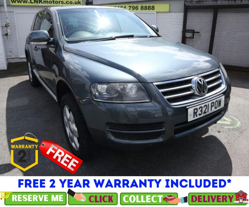 USED 2006 06 VOLKSWAGEN TOUAREG VOLKS WAGEN TOUAREG V6 TDI SPORT A *CLICK & COLLECT OR DELIVERY *
