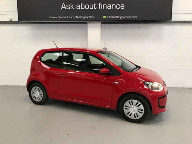 USED 2013 63 VOLKSWAGEN UP 1.0 MOVE UP BLUEMOTION TECHNOLOGY 3d 59 BHP