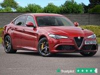 USED 2017 67 ALFA ROMEO GIULIA 2.9L V6 BITURBO QUADRIFOGLIO - ONE OWNER  - Recently Serviced by Alfa Romeo