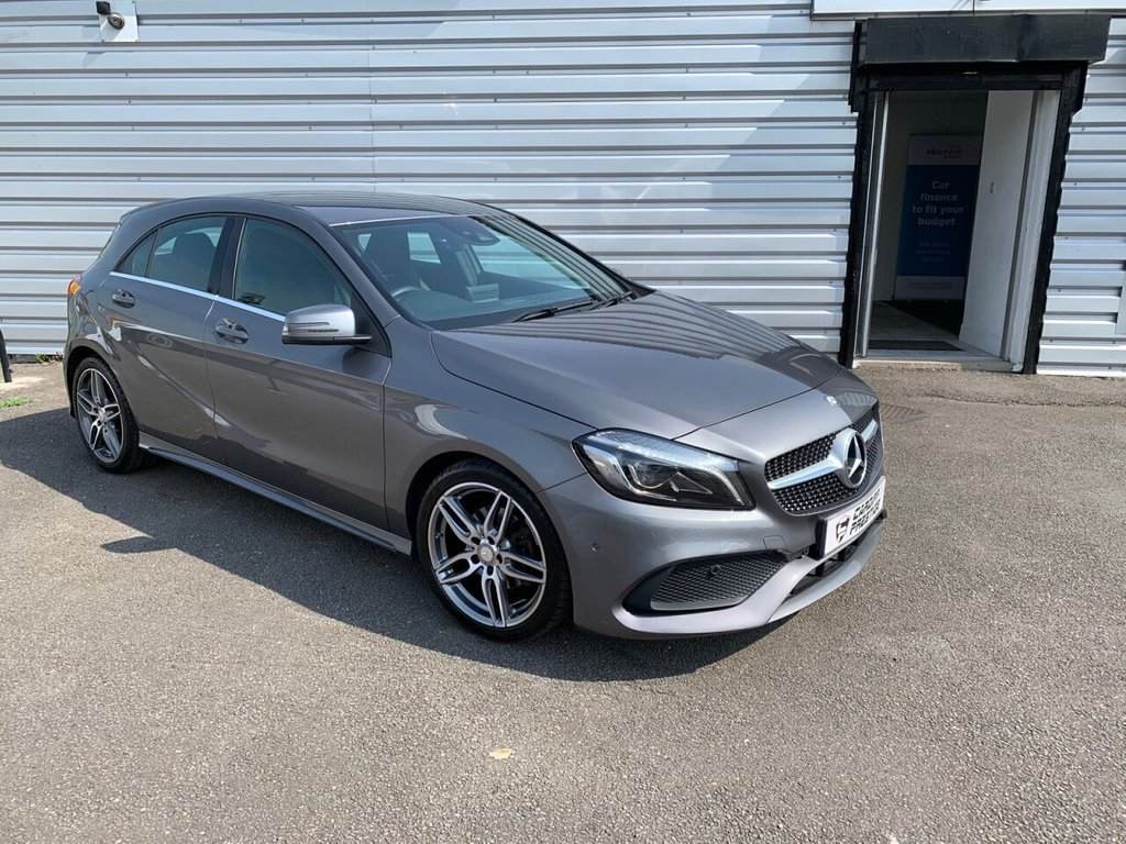 USED 2017 17 MERCEDES-BENZ A-CLASS 1.6 A 180 AMG LINE PREMIUM 5d 121 BHP Premium Pack + £2185 in extras