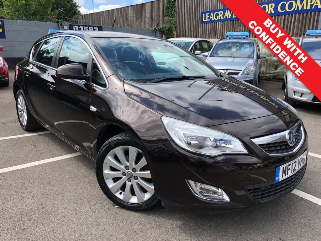 USED 2012 12 VAUXHALL ASTRA 1.6 ELITE 5d 113 BHP FULL SERVICE HISTORY + LOW MILEAGE