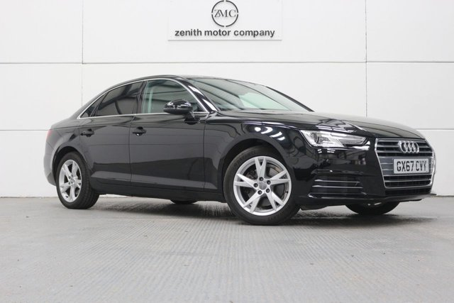 2017 67 AUDI A4 1.4 TFSI SPORT 4d 148 BHP