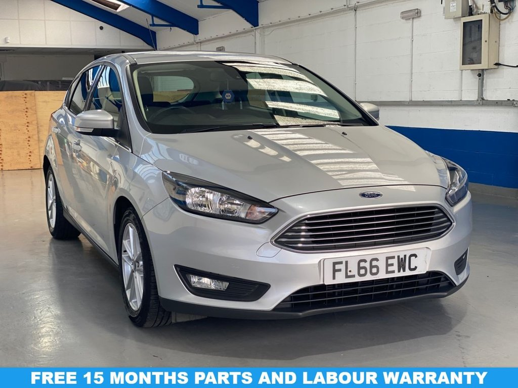 USED 2016 66 FORD FOCUS 1.5 ZETEC TDCI 5d 118 BHP *FULL SERVICE HISTORY*1 OWNER*FREE ROAD TAX*