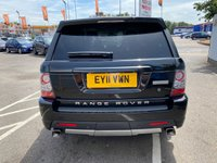 USED 2011 11 LAND ROVER RANGE ROVER SPORT 3.0 TDV6 AUTOBIOGRAPHY 5d 245 BHP GREAT SPEC INC SURROUND CAMERA